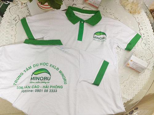 áo đồng phục trung tâm du học