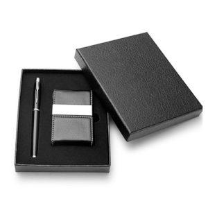 bộ quà tặng bút ký và hộp name card