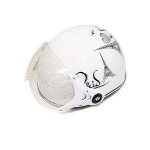 mũ bảo hiểm quà tặng có kính hg001