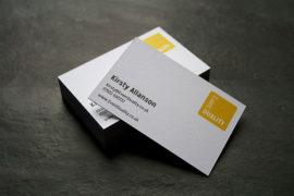 in card visit giấy mỹ thuật tại Hải Phòng