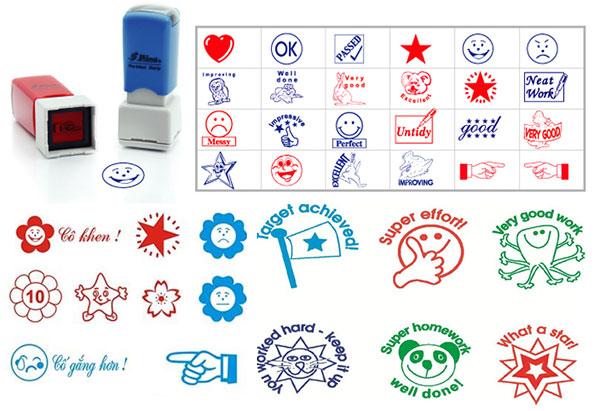 khắc dấu logo hình hoa Hải Phòng