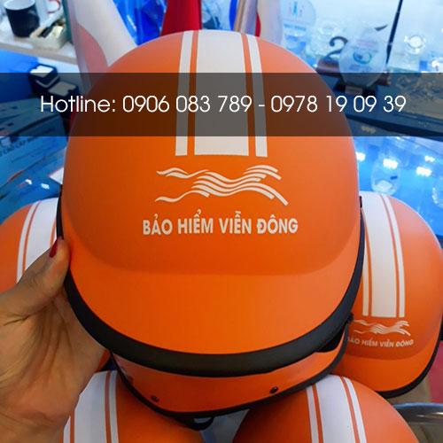 mũ bảo hiểm quà tặng hg001