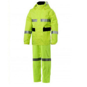 Bộ áo mưa 2 lớp PU phản quang