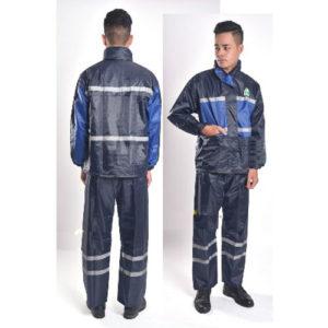 Bộ quần áo mưa phản quang
