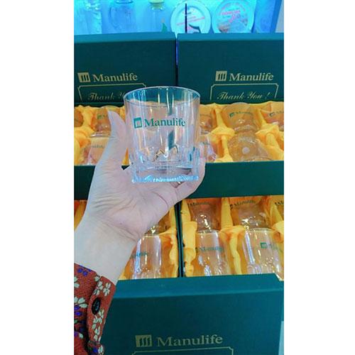 Bộ 6 cốc thủy tinh Manulife