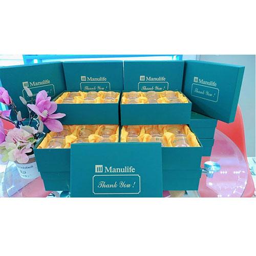 Bộ 6 cốc thủy tinh Manulife(1)