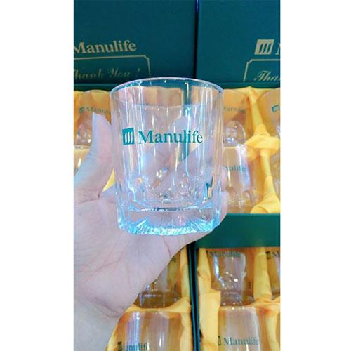 Bộ 6 cốc thủy tinh Manulife(3)