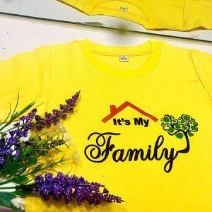 áo gia đình it's my family