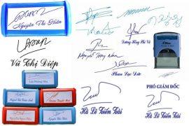 khắc dấu chữ ký đẹp ở hải phòng